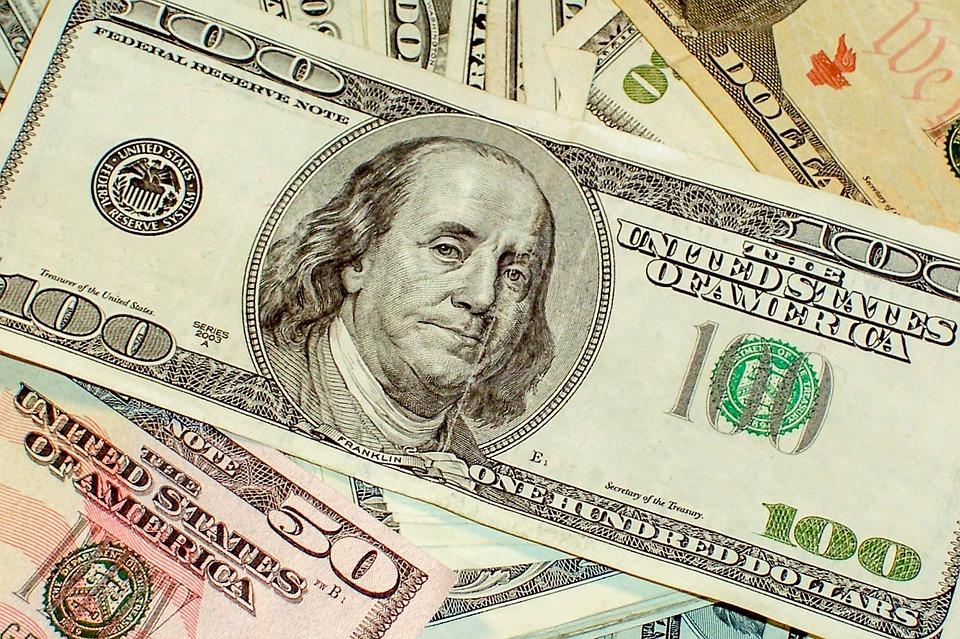 US dolary