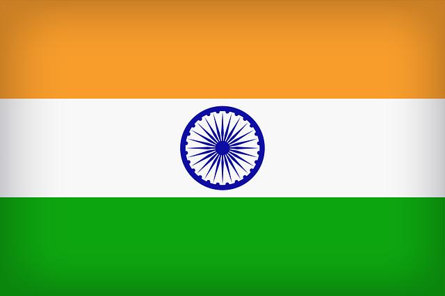 vlajka indie