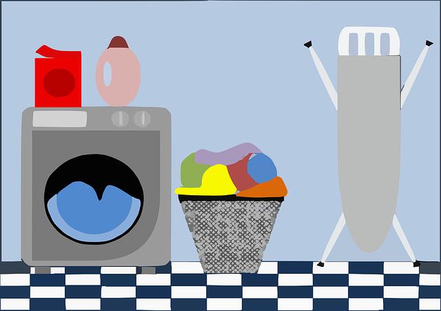 potřeby prádelny