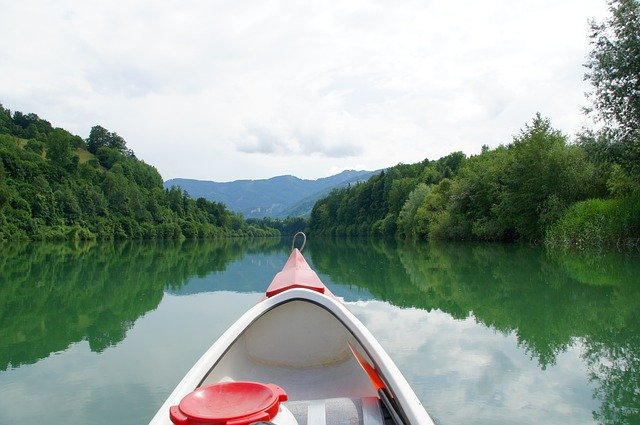 vodácká výprava
